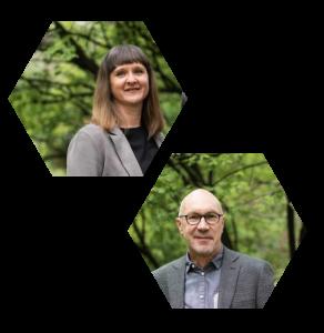 Geschäftsführer Christine Pindur und Harry Assenmacher